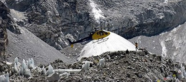 everest base camp by heli tour