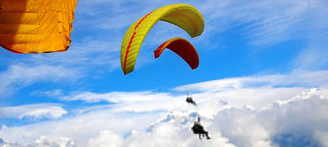 Paragliding Adventure in Nepal