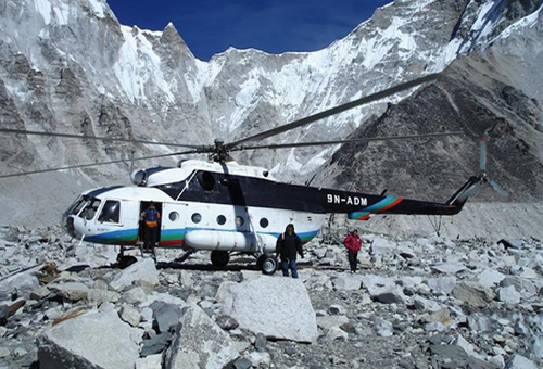 Rescue Flight in Nepal