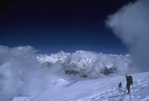 Nepal Peak Clibing