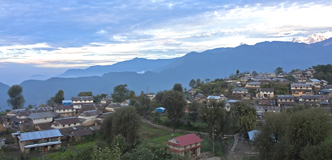 Ghale Gaon Hiking