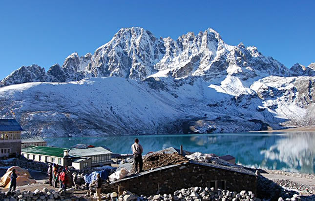Gokyo Lake Trek via Everest Base Camp