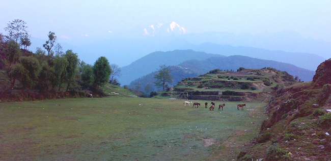 Ghalegoan Gurung Village of Nepal