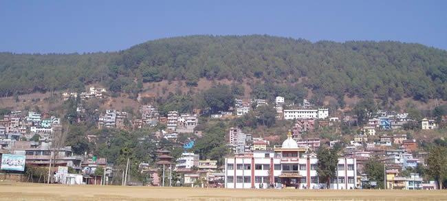 Tansen City of Nepal
