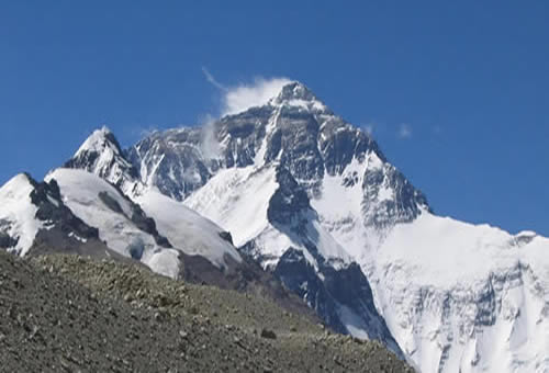 Mt. Everest Expedition North Face Route of Tibet